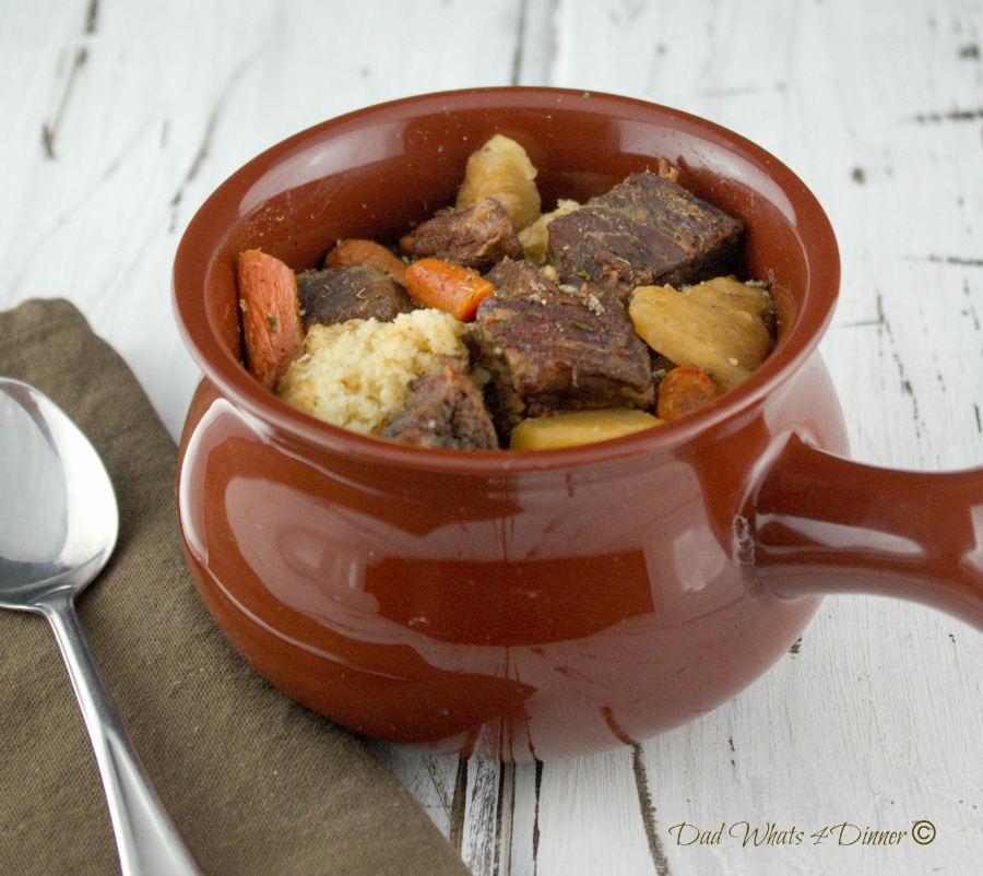 how to make beef stew in crock pot