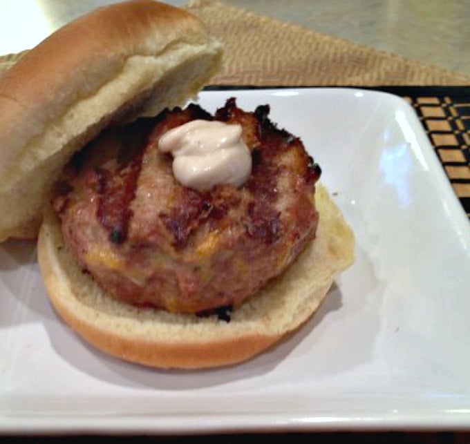 Guys, my Grilled Bacon Jack Turkey Burgers is a great meal to make for your wife or mother on Mother's Day. Serve with grilled corn and baked potatoes.
