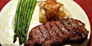 VALENTINE'S DAY STEAK DINNER   www.dadwhats4dinner.com