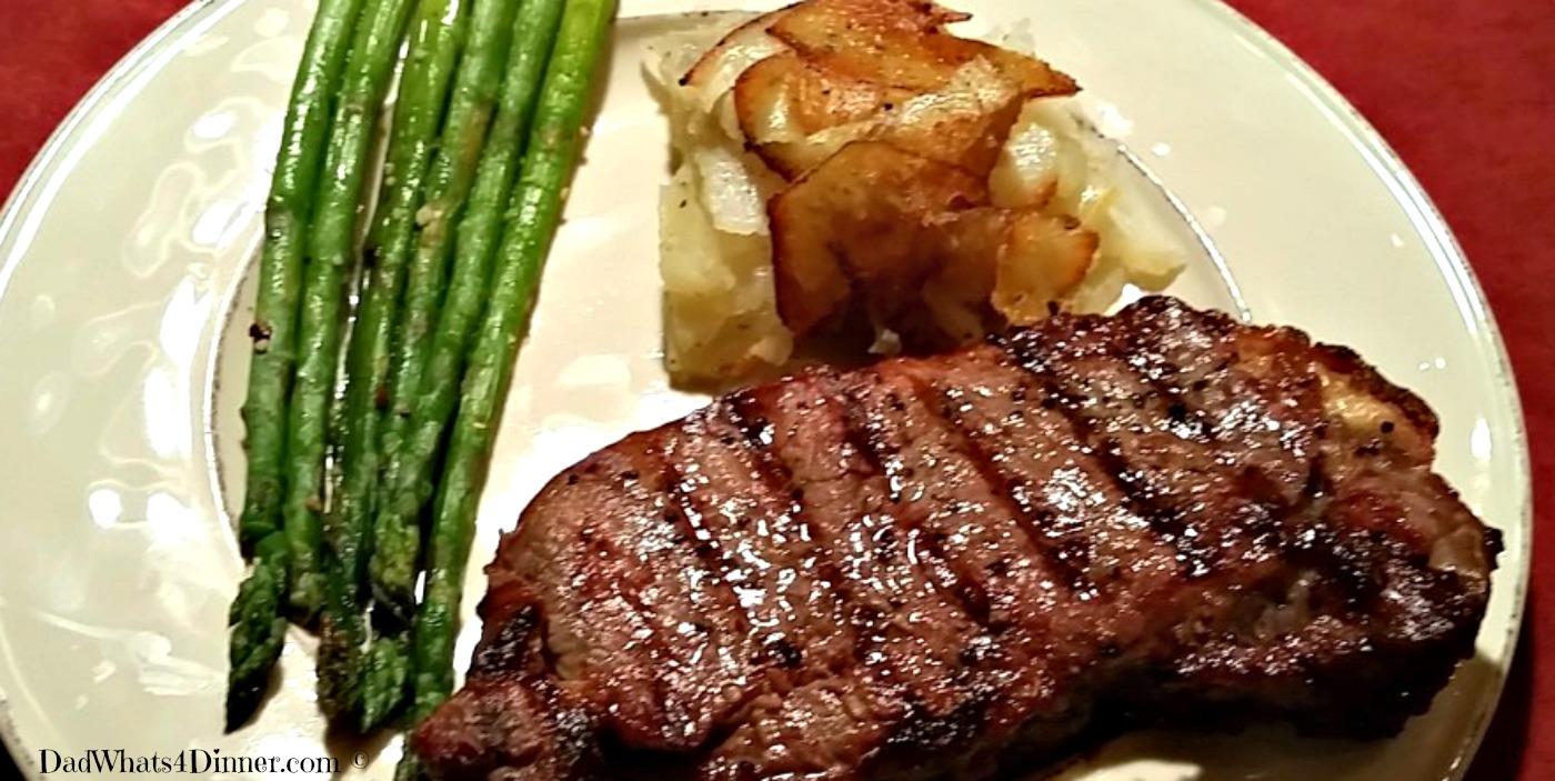 Valentine's Day Steak Dinner | www.dadwhats4dinner.com