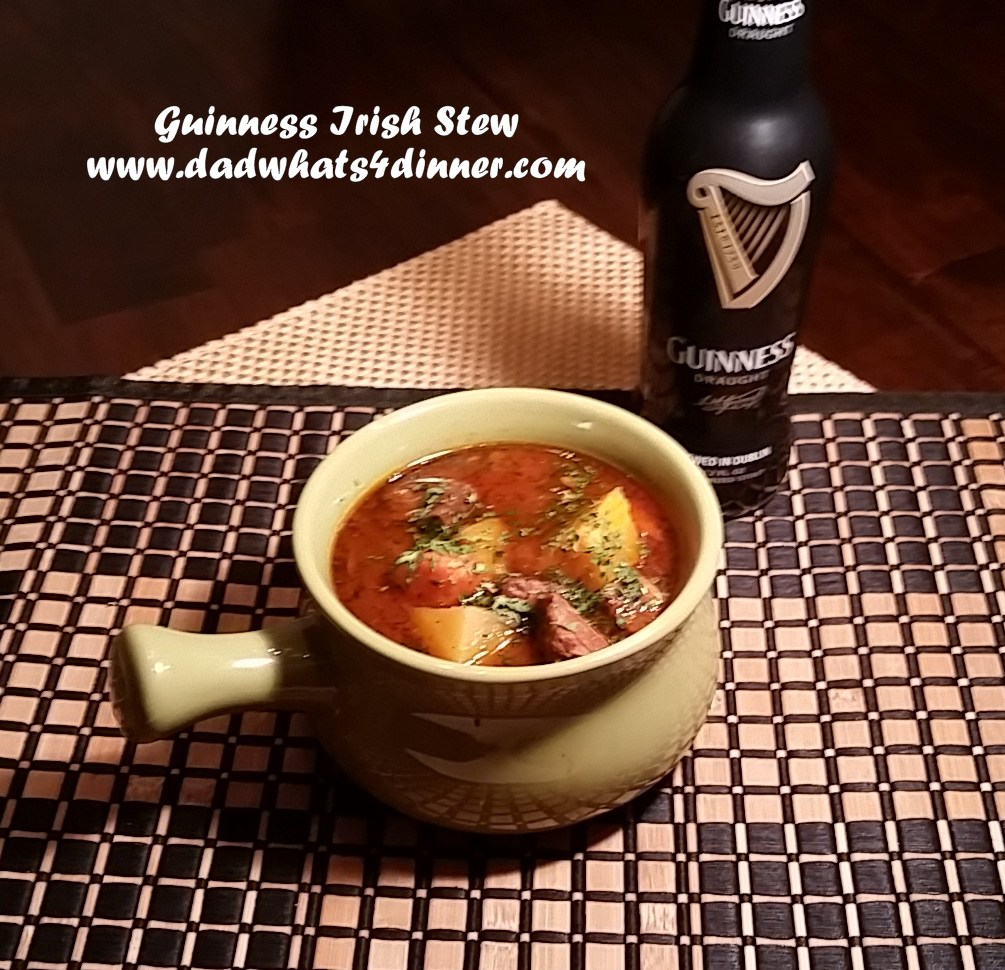 My Guinness Irish Stew can be made on the stove or in the slow cooker