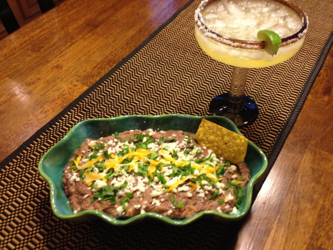 MEXICAN BLACK BEAN DIP | www.dadwhats4dinner.com