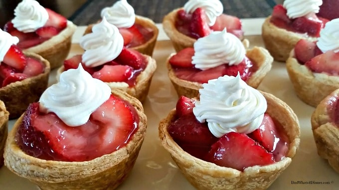 Mini Strawberry Pies 12