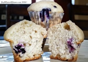 My Mini Blueberry Mascarpone Muffins are extra creamy and perfect for breakfast, brunch or an afternoon snack!