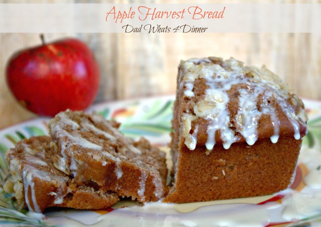 My Apple Harvest Bread is perfect to celebrate apple picking season.
