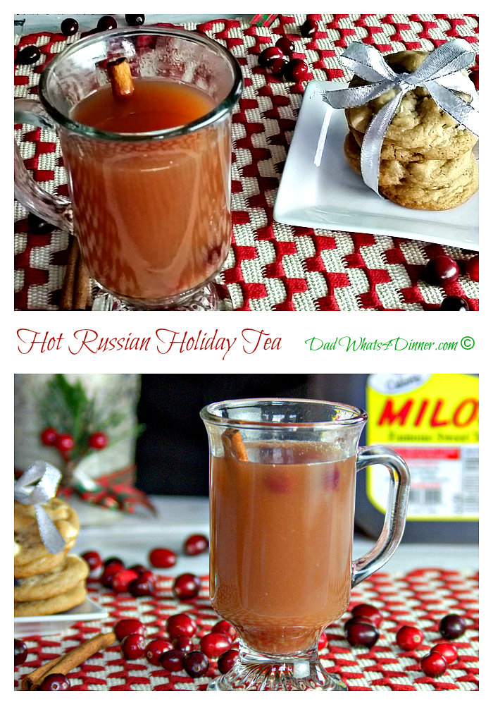 Hot Russian Holiday Tea | www.dadwhats4dinner.com