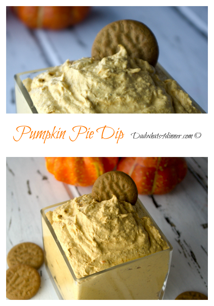 Pumpkin Pie Dip | Dadwhats4dinner.com