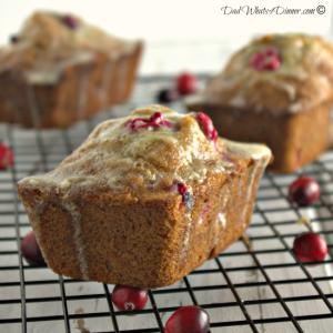 Cranberry Eggnog Christmas Bread 43550