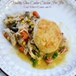 Healthy Slow Cooker Chicken Pot Pie | http://DadWhats4Dinner.com ©