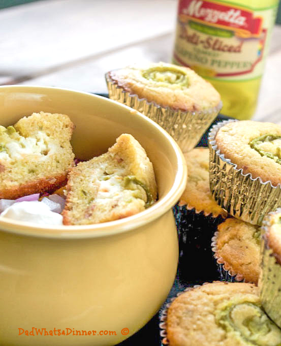 Jalapeno Bacon Corn Muffin Bombs  https://dadwhats4dinner.com