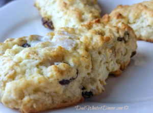 Oatmeal Raisin Scones | https://dadwhats4dinner.com