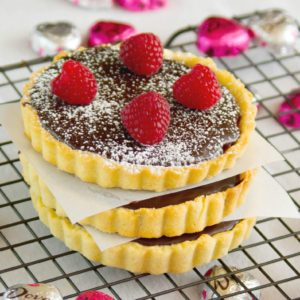 Chocolate Raspberry Tart | https://dadwhats4dinner.com