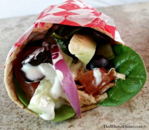 Crock PotCrock Pot Chicken Ranch Fiesta Wraps | https://dadwhats4dinner.com