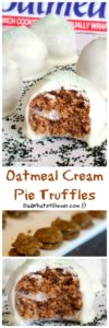 These 2 ingredient Oatmeal Cream Pie Truffles are the jewels of the Leprechaun. Easy to decorate for any holiday and the kids will love them.