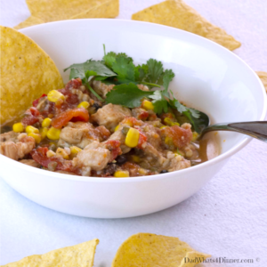 My easy Slow Cooker Mexican Pork Stew is an awesome weeknight meal, chocked full of protein and veggies.