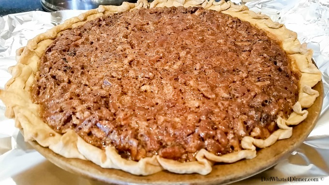 Chocolate Pecan Pie | dadwhats4dinner.com