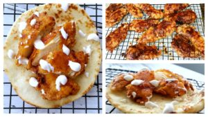 Nashville Hot Chicken Flatbreads is a spicy appetizer alternative to the messy original. Perfect for when you want to add a little spice to your life.