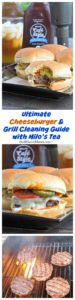 Summer grilling season is in full swing and my Ultimate Cheeseburger and Grill Cleaning Guide is all you need to keep the family fed and happy.