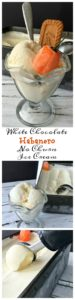 Look out my White Chocolate Habanero No Churn Ice Cream will cool you down then heat you up. A fabulous mixture of sweet heat.