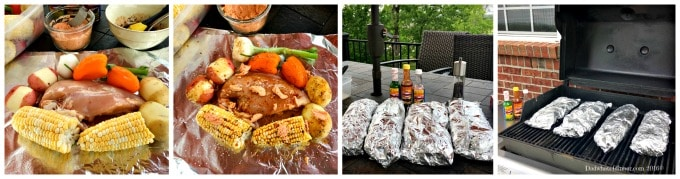 Go Native with my flavorful and Easy Chicken & Summer Vegetable Foil Packets with Habanero Butter made with El Yucatec® Red Habanero Sauce. El Yucatec® sauces add great flavor to your summer adventures.