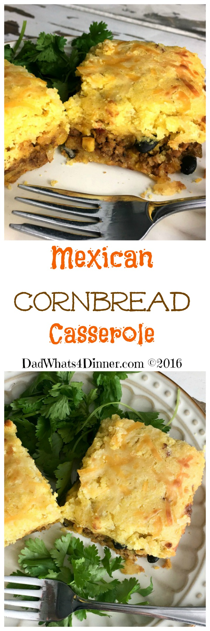 Great fusion between Southern and Mexican comfort food.Mexican Cornbread Casserole is super easy to make and your kids will love it.