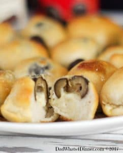 Get your GameDay on with these Spicy Olive Cheese Bombs. Your guest will love my quick and simple appetizer, bursting with flavor!