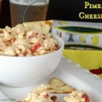 Pimento Cheese Dip is a great combination of the simple pimento cheese sandwich in dip form. A southern twist on the Jarlsberg Dip from Kroger's.