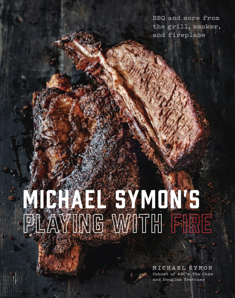 Michael Symon's New Cookbook Cooking with Fire giveaway prizes from dad whats 4 dinner www.dadwhats4dinner.com