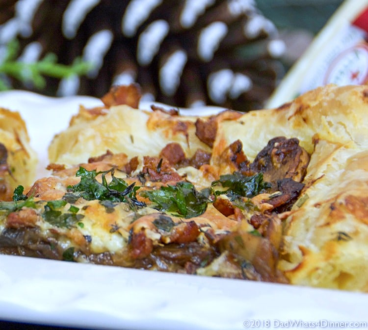 Picture of Caramelized Onion Bacon Cheese Tarts